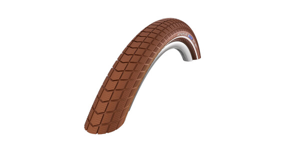 "SCHWALBE Big Ben - Pneu - Active 28"" K-Guard Twin rigide marron"